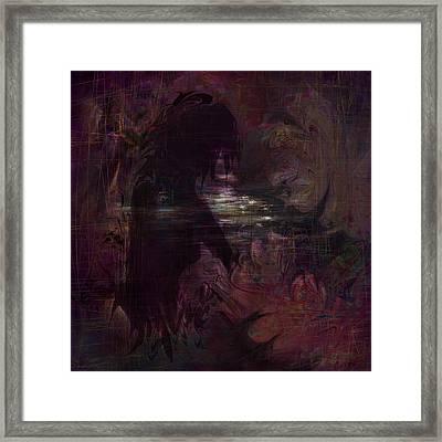Midnight Dream Framed Print by Rachel Christine Nowicki