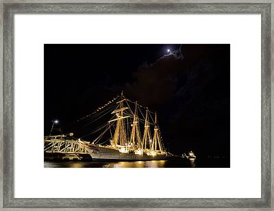 Midnight In Pensacola Framed Print by JC Findley
