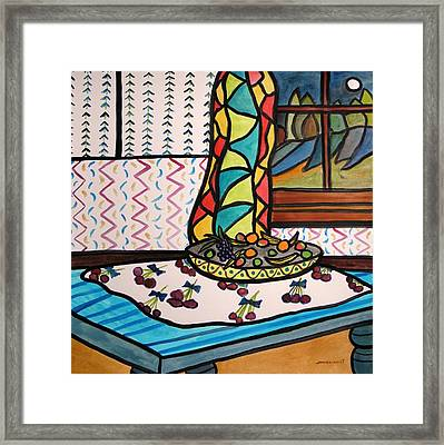 Midnight In The Kitchen Framed Print by John Williams