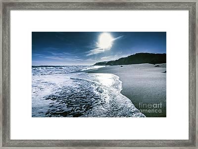 Midnight Ocean Fine Artwork Framed Print by Jorgo Photography - Wall Art Gallery