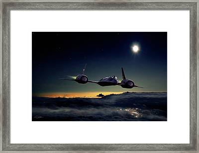 Midnight Rider Framed Print by Peter Chilelli