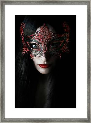 Midnight Framed Print by Cambion Art