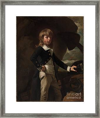 Midshipman Augustus Brine Framed Print by Celestial Images