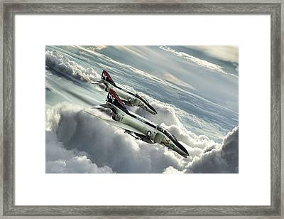 Midway Mig Killers Framed Print by Peter Chilelli