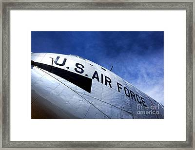 Mighty Us Air Force  Framed Print by Olivier Le Queinec