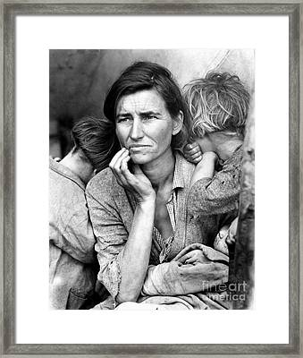 Migrant Mother, 1936 Framed Print by Granger