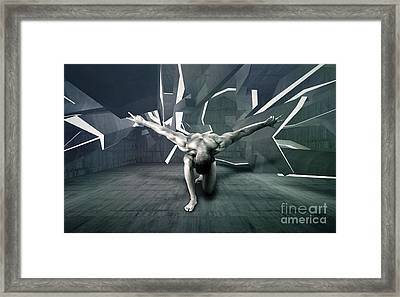 Mike 13 Framed Print by Mark Ashkenazi