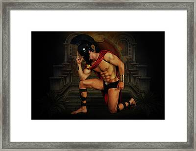 Mike15 Framed Print by Mark Ashkenazi