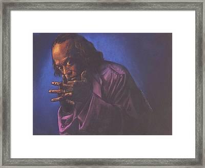 Miles Davis Framed Print by Curtis James