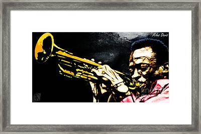 Miles Davis Framed Print by The DigArtisT