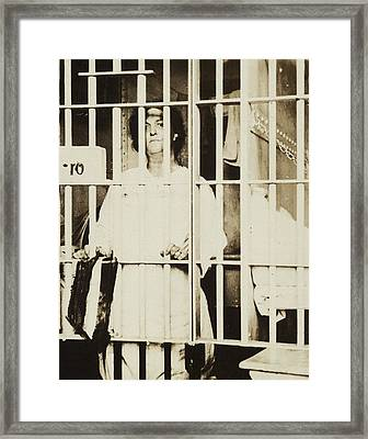 Militant Suffragist Helena Hill Weed Framed Print by Everett