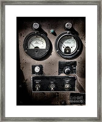 Military Power  Framed Print by Olivier Le Queinec