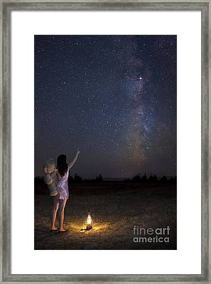 Milky Way Dream Framed Print by Ben Canales