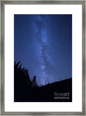 Milky Way Galaxy Framed Print by Juli Scalzi