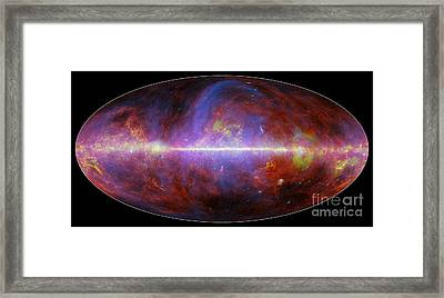 Milky Way Galaxy Framed Print by Science Source