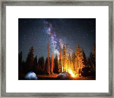 Milky Way Framed Print by William Church - Summit42.com