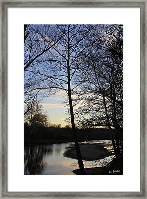 Mill Creek Memories Framed Print by Ed Smith