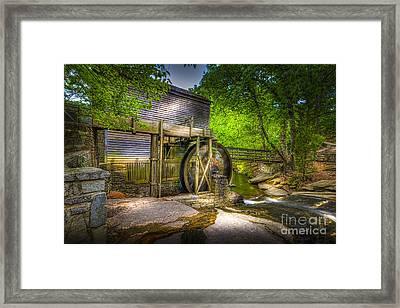 Mill Pond Framed Print by Marvin Spates