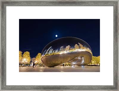 Millennium Park - Chicago Il Framed Print by Drew Castelhano
