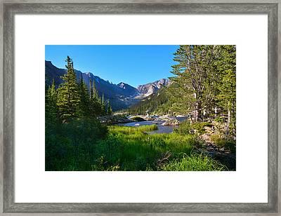 Mills Lake Splendor   Framed Print by Melanie Bellis
