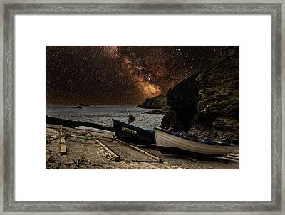 Mily Way Framed Print by Martin Newman