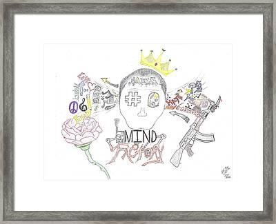 Mind Factory Framed Print by Devrryn Jenkins