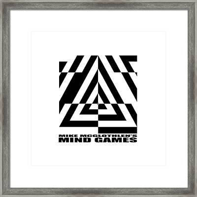 Mind Games  21se Framed Print by Mike McGlothlen