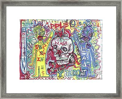 Mind Over Matters Framed Print by Robert Wolverton Jr