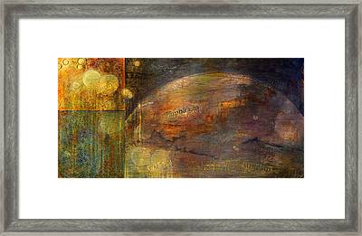 Mindfulness Framed Print by Theresa Marie Johnson