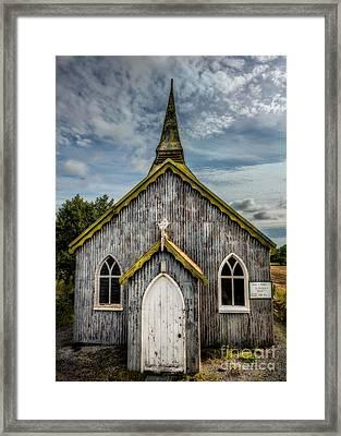 Minera Parish Framed Print by Adrian Evans