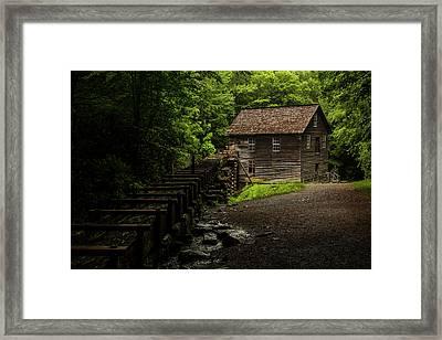 Mingus Mill Framed Print by Chris Austin