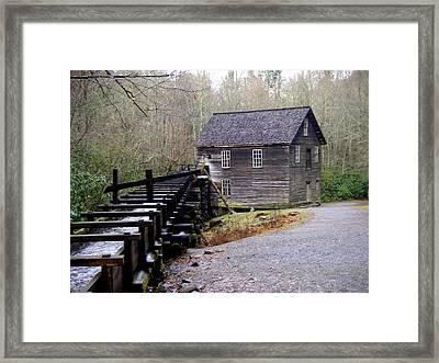 Mingus Mill Framed Print by Marty Koch