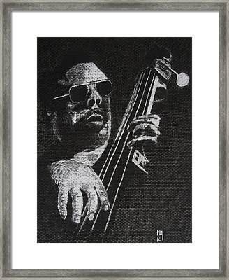 Mingus Framed Print by Nick Young