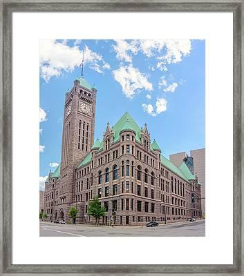 Minneapolis City Hall Framed Print by Jim Hughes