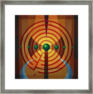 Minotaur - I Framed Print by Alberto D-Assumpcao