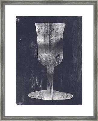 Miriam's Cup - Art By Linda Woods Framed Print by Linda Woods