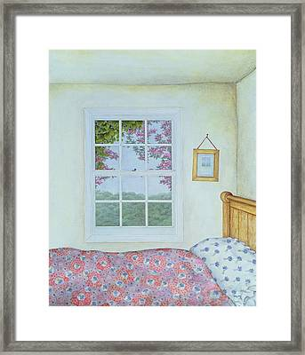 Miriam's Room Framed Print by Ditz