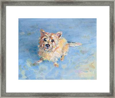 Miri's Memory Framed Print by Kimberly Santini