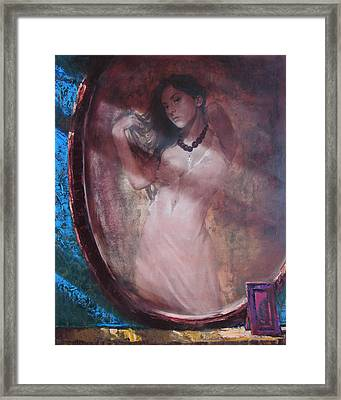 Mirror For The Sun Framed Print by Sergey Ignatenko