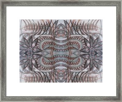 Mirror Image Framed Print by Ariela