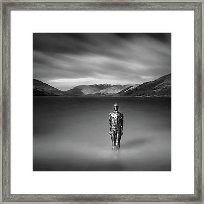 Mirror Man Framed Print by Dave Bowman