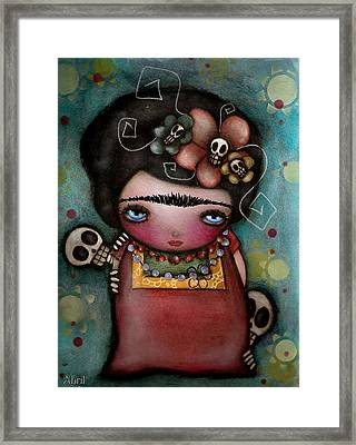 Mis Amigos Framed Print by  Abril Andrade Griffith