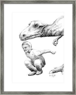 Mischief Makers Framed Print by Mark Johnson