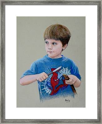 Mischief Framed Print by Pat Neely