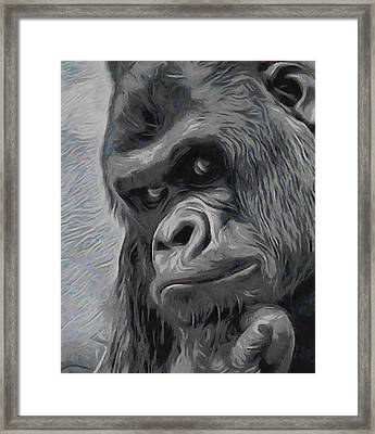 Mischievous Thoughts  Framed Print by Ernie Echols