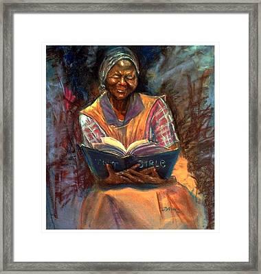 Miss Betty Framed Print by Tommy  Winn