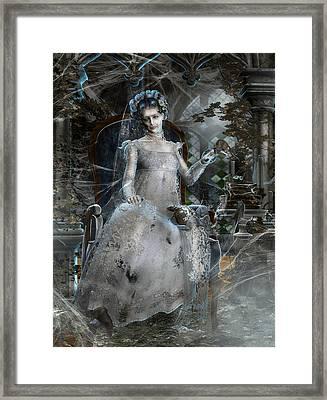 Miss. Havisham Framed Print by Mary Hood