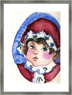 Miss Sugar Plum Framed Print by Mindy Newman