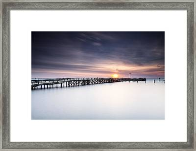 Missed It By That Much Framed Print by Edward Kreis