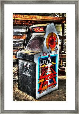 Missile Command Framed Print by Wild Fire